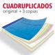 Talonarios copiativos Cuadruplicados A4