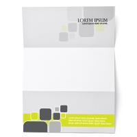Hojas de carta A4 con membrete a todo color