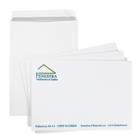 Sobres bolsa 1/2 folio (18,4x26,1) impresos a 1 y 2 colores