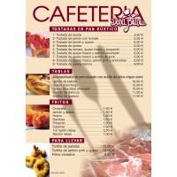 Cartas Restaurante A4 Sin Plegar