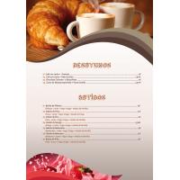 Cartas Restaurante A5 Sin Plegar