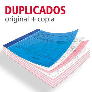 Talonarios duplicados