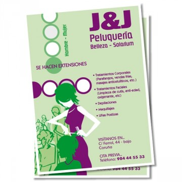 Flyers a 2 colores