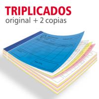 Talonarios copiativos triplicados