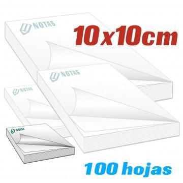 Bloc de notas 10x10 cm