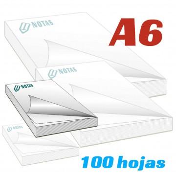 Bloc de notas A6 (14.8x10.5cm)