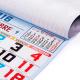 Calendario de Pared  Mensual 33,5 cm.