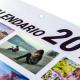 Calendarios de pared 1 Lámina anual