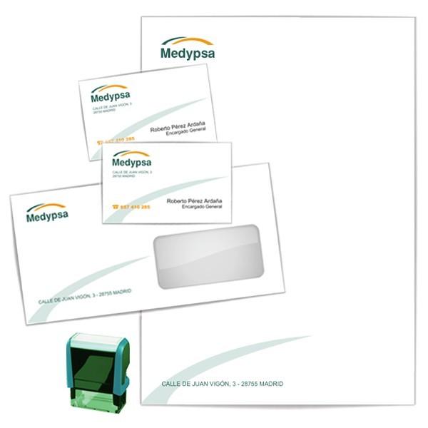 b8b63ef89c9b3 Pack Papelería Corporativa con 500 Tarjetas de Visita GRATIS