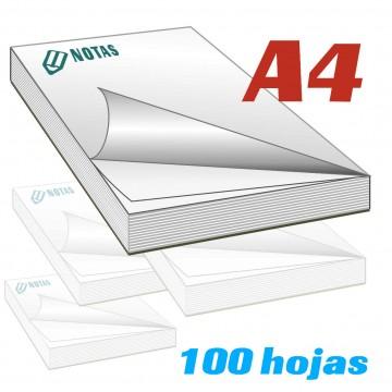 Bloc de notas A4 (21x29,7 cm)