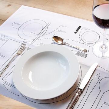 Manteles de papel para mesa Restaurante
