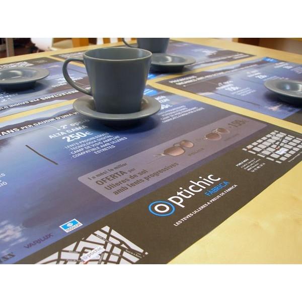 Manteles de papel para mesa restaurante for Articulos para restaurantes