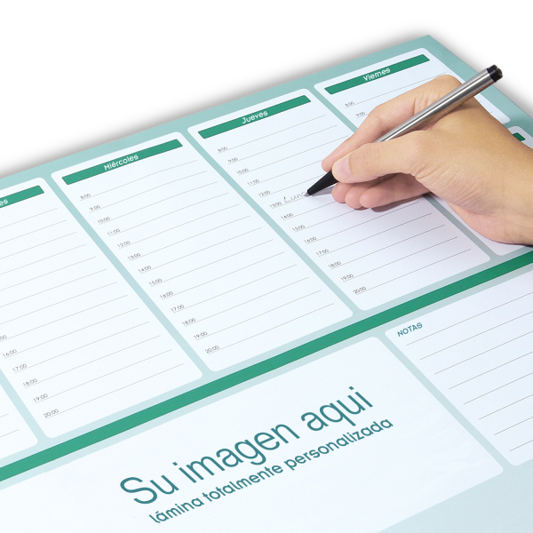 Calendarios de mesa tipo bloc de notas - Calendario de mesa ...