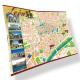 Mapas Turísticos Hoteles 48x33cm