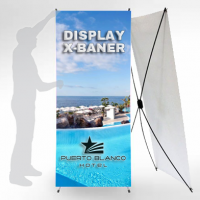 Display X-Baner 80x200cm