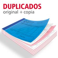 Talonarios copiativos duplicados