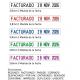 Sello/Cuño Profesional Formulario Tamaño 3,8mm