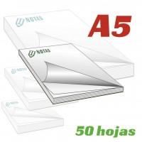Bloc notas A5 50 hojas
