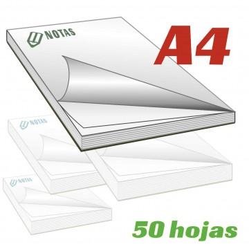Bloc notas A4 50 hojas
