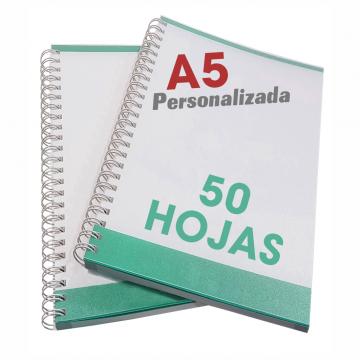 Libretas A5 de 50 hojas