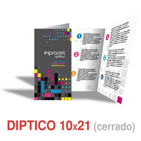 Dipticos 21x10