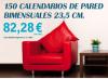 Promoción calendarios navidad 2014